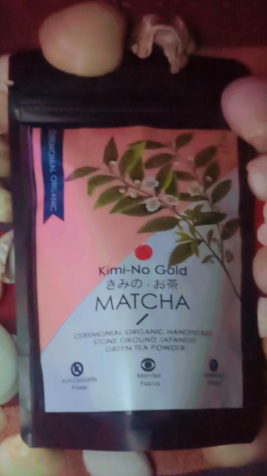 Kimino Gold Matcha Ceremonial Grade Green Tea Powder -Beneficial for your health, boosts your metabolism rapidly.-By ananya_banerjee_