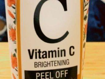 St.Botanica Vitamin C Brightening Peel Off Mask -Awsome-By xoxo_krupali