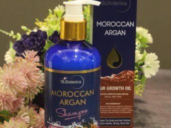 StBotanica Moroccan Argan Hair Shampoo pic 2-No Harmful Chemicals!-By mumbai_food_guru