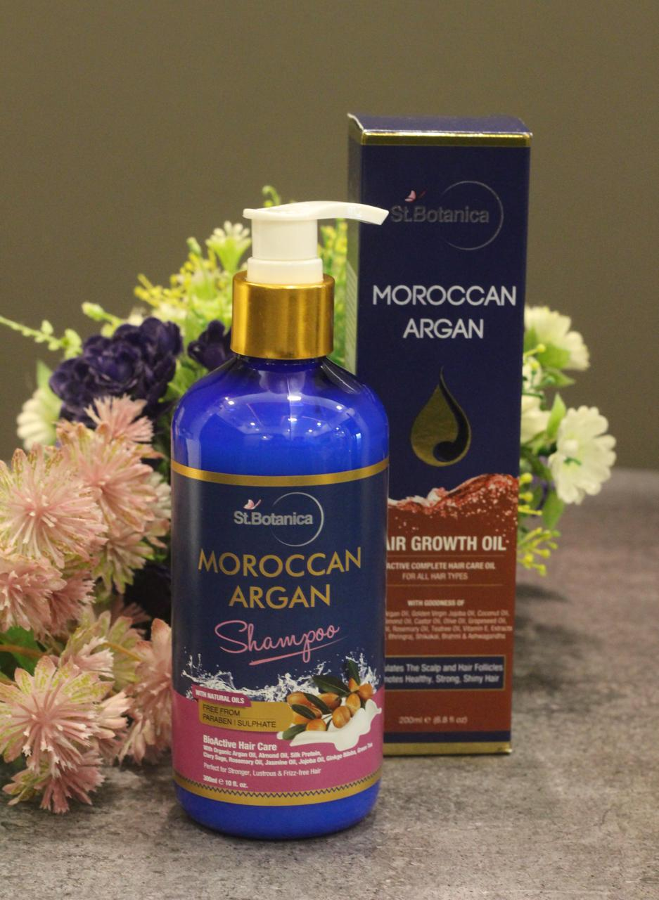 StBotanica Moroccan Argan Hair Shampoo-No Harmful Chemicals!-By mumbai_food_guru-2