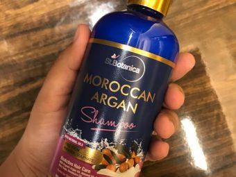 StBotanica Moroccan Argan Hair Shampoo pic 1-No Harmful Chemicals!-By mumbai_food_guru