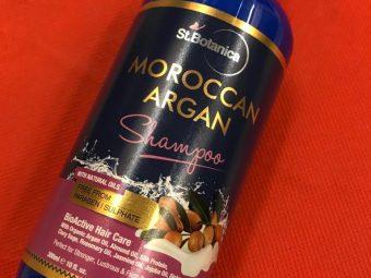 StBotanica Moroccan Argan Hair Shampoo pic 4-No Harmful Chemicals!-By mumbai_food_guru