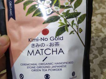 Kimino Gold Matcha Ceremonial Grade Green Tea Powder pic 2-Amazing Organic Matcha Tea-By rita_punjabi