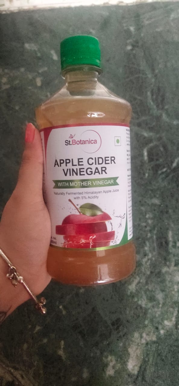 St Botanica Apple Cider Vinegar -good for weight loss-By saloni_gera