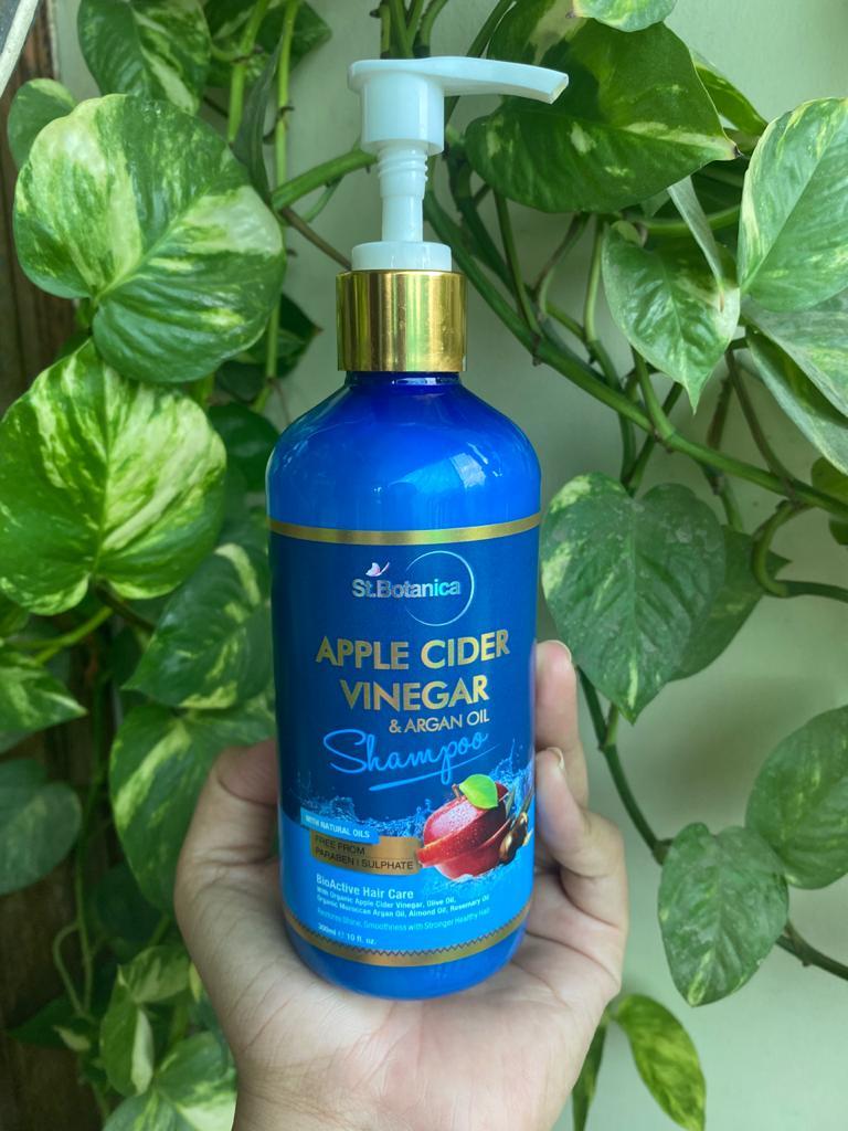 St.Botanica Apple Cider Vinegar & Argan Oil Hair Shampoo-amazing bounce to hair-By ultra_foodie