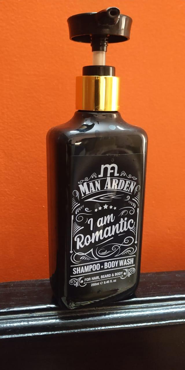 Man Arden I Am Romantic Shampoo + Body Wash -Long Lasting Fragrance-By radhakrishna_kode
