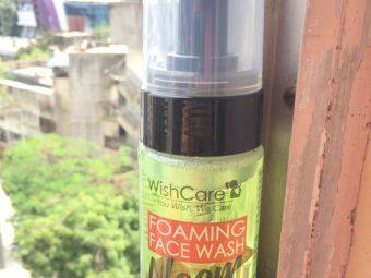 WishCare Foaming Neem Face Wash pic 1-Cleanse skin, removes oil,-By vaishnavi_baheti