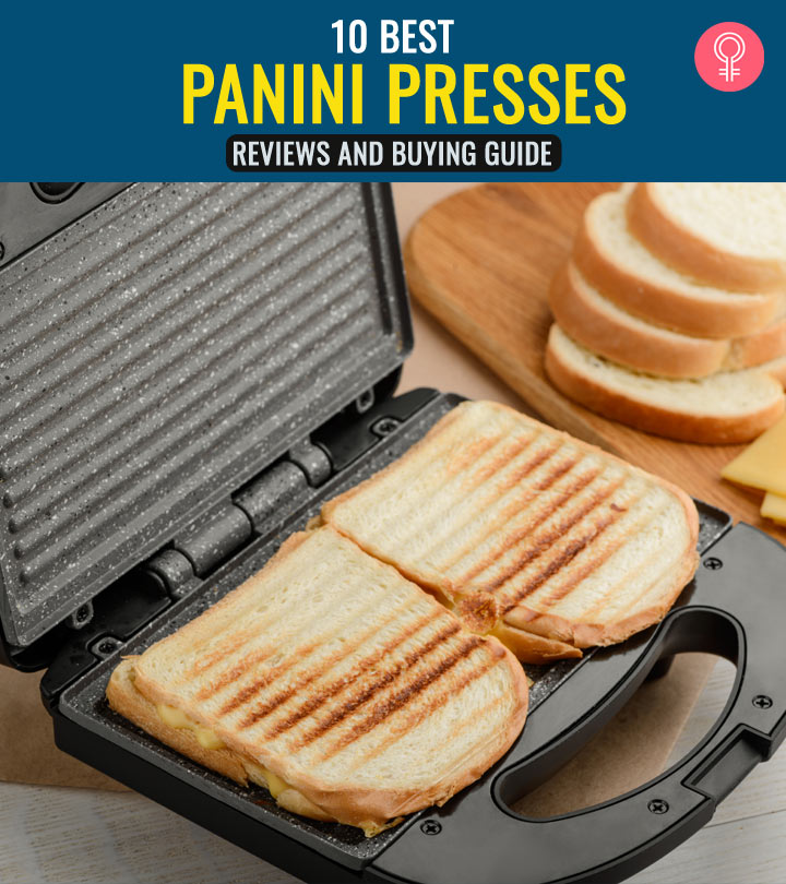 10 Best Panini Presses – Reviews And Buying Guide