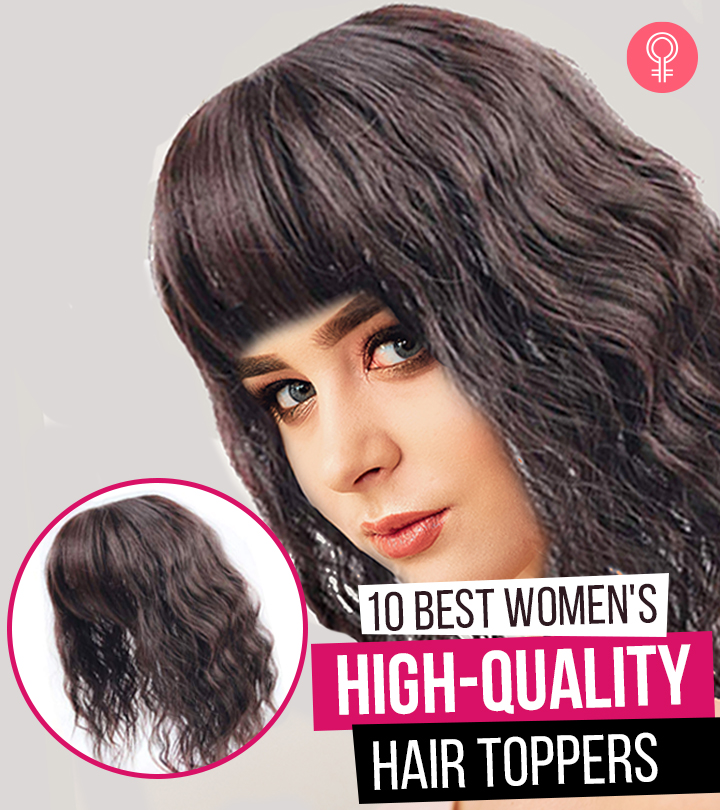 10 Best Women's High-Quality Hair Toppers Of 2020