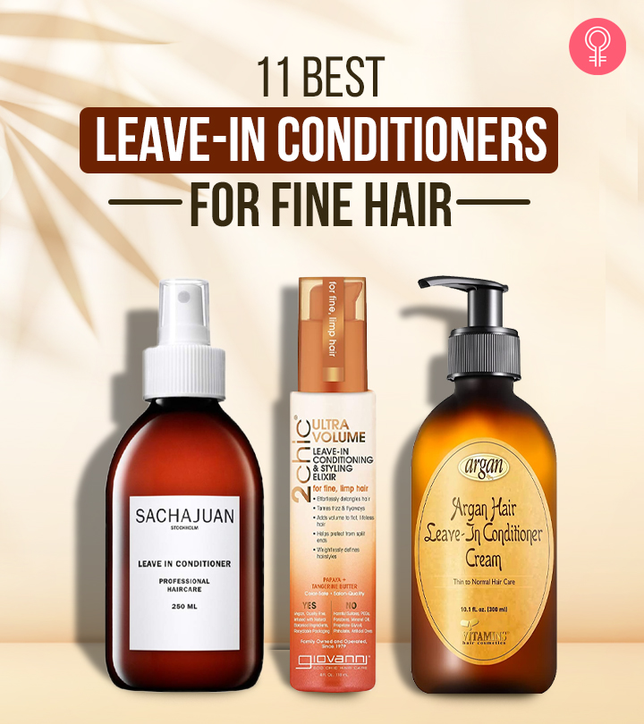 11 Best Leave-in Conditioners For Fine Hair