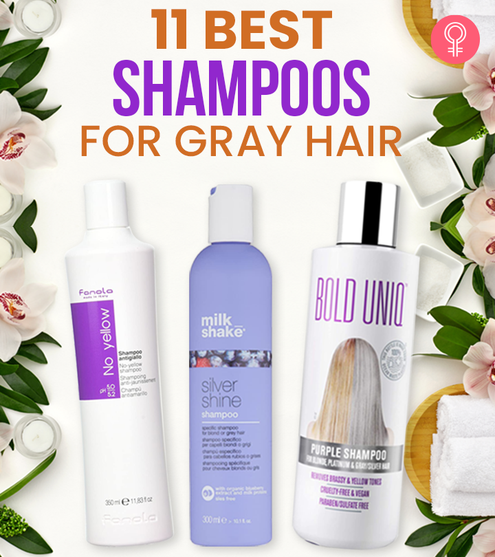 11 The Best Shampoos For Gray Hair