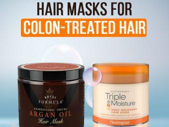 13 Best Hair Masks For Colon-Treated Hair