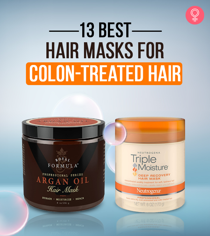 13 Best Deep Conditioning Hair Masks For Color-Treated Hair