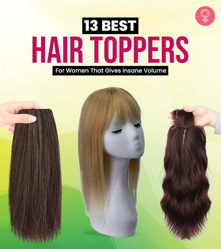 13 Best Hair Toppers For Women That Gives Insane Volume