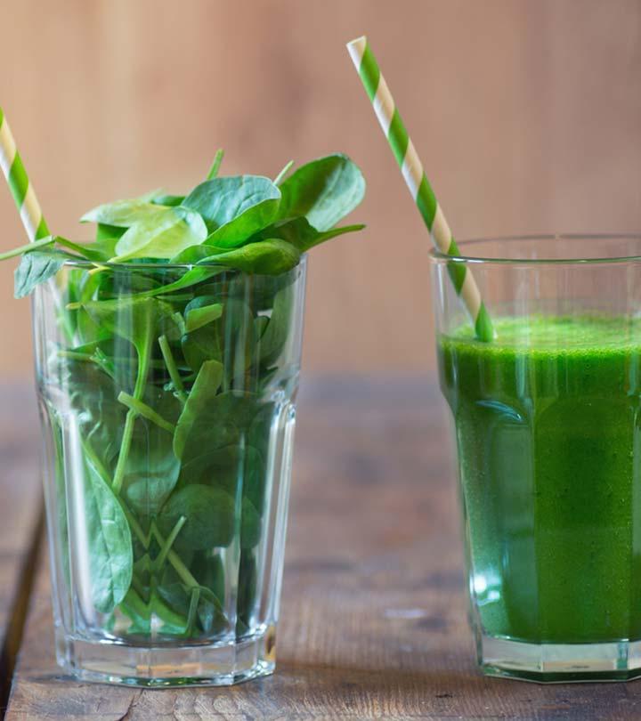 14 Health Benefits Of Spinach Juice ( Palak Ka Ras) in Hindi