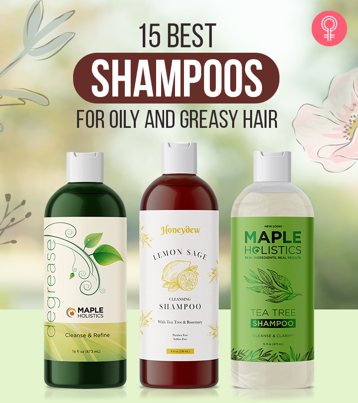 15 Best Shampoos For Oily And Greasy Hair In 2021
