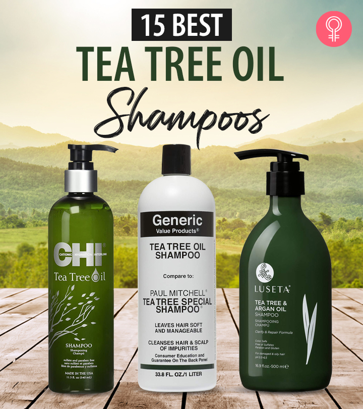 15 Best Tea Tree Oil Shampoos