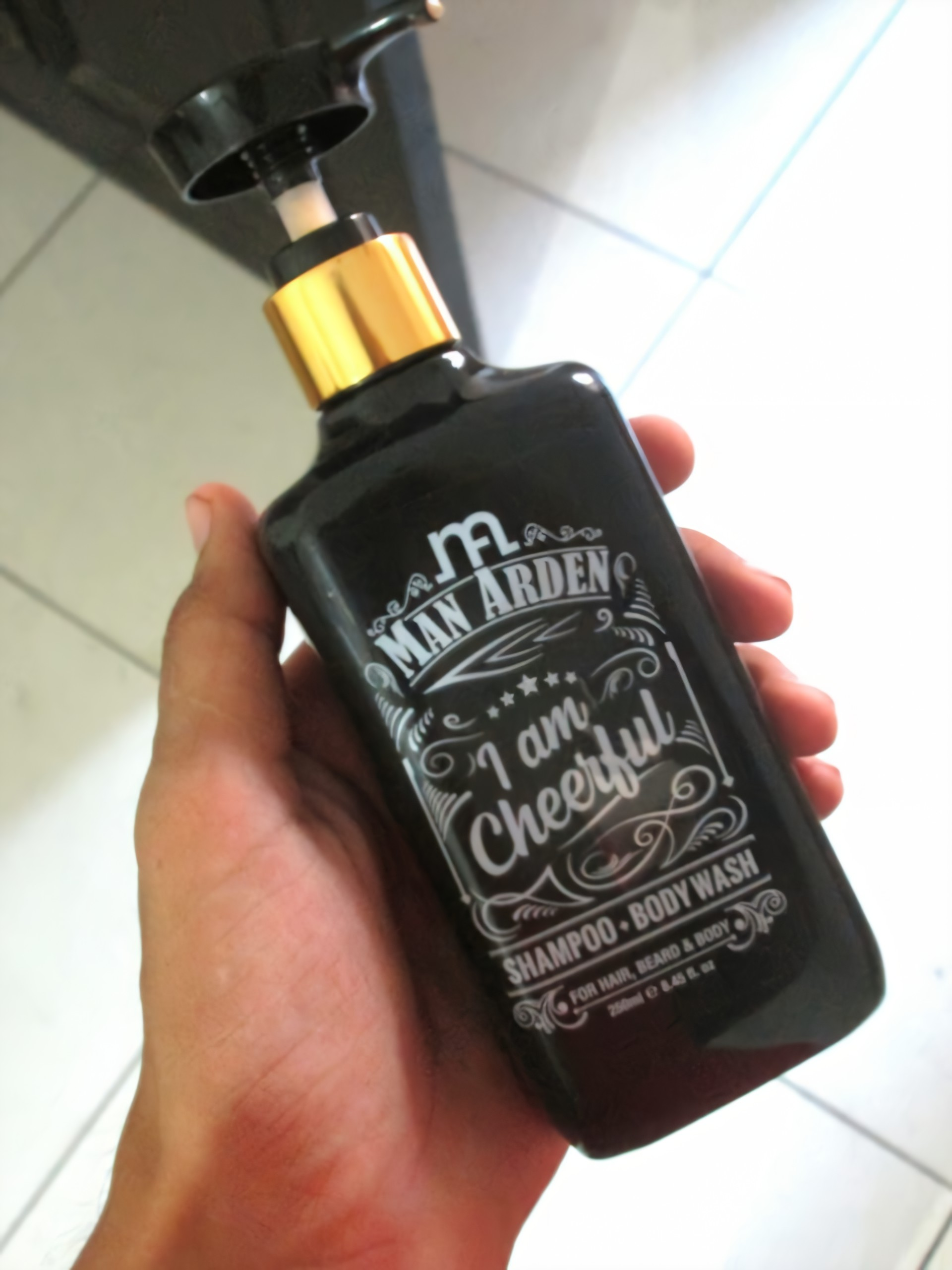 Man Arden I Am Cheerful Shampoo Bodywash-loved this product-By jaspreet89