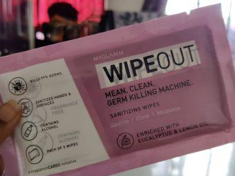MyGlamm Wipeout Sanitizing Wipes -Bye bye germs-By pratz_nahar74