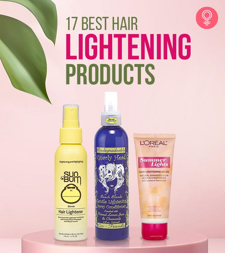 17 Best Hair Lightening Products