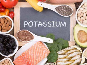 17 Potassium Rich Foods in Hindi