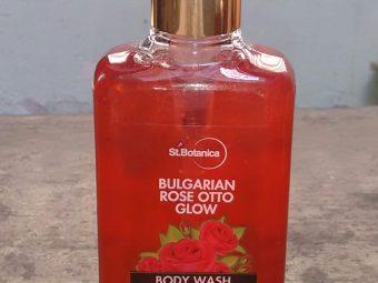StBotanica Bulgarian Rose Otto Glow Body Wash -Body wash with amazing rose fragrance-By komalv