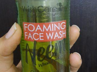 WishCare Foaming Neem Face Wash -Nice facewash for oily skin-By nikitha_sancheti