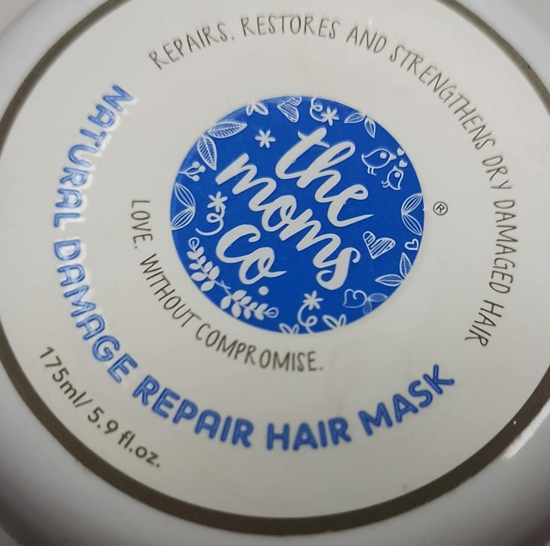 The Moms co. KA+ Natural Damage Repair Hair Mask-MUST HAVE HAIR MASK!!-By faatimaa-2