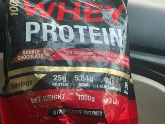 MuscleXP 100% Whey Protein With Digestive Enzyme -Helps in gaining and bulking-By sukritkohli