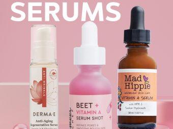 5 Best Vitamin A Serums Of 2020