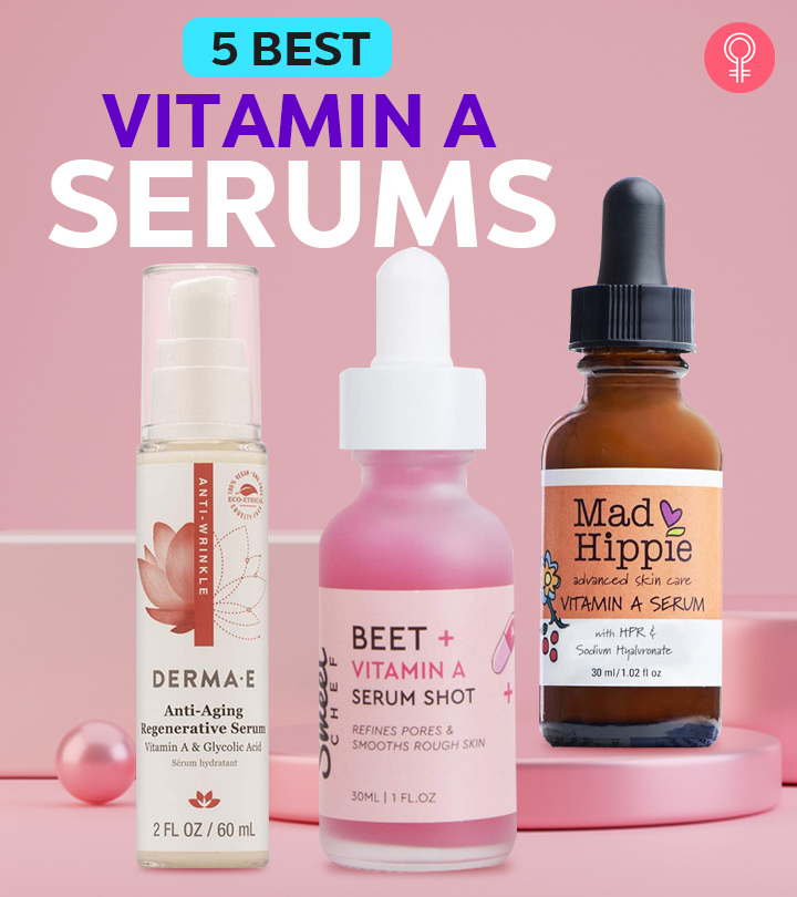 5 Best Vitamin A Serums Of 2020