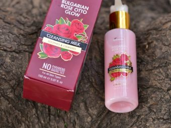 StBotanica Bulgarian Rose Otto Glow Cleansing Milk pic 2-Hydrating cleansing milk-By vershaladhani