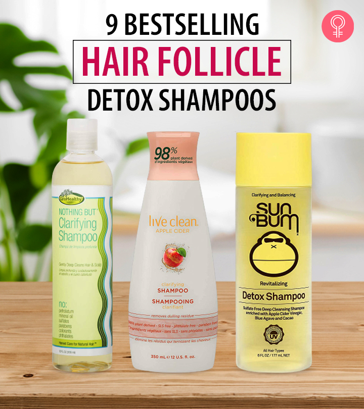 9 Bestselling Hair Follicle Detox Shampoos