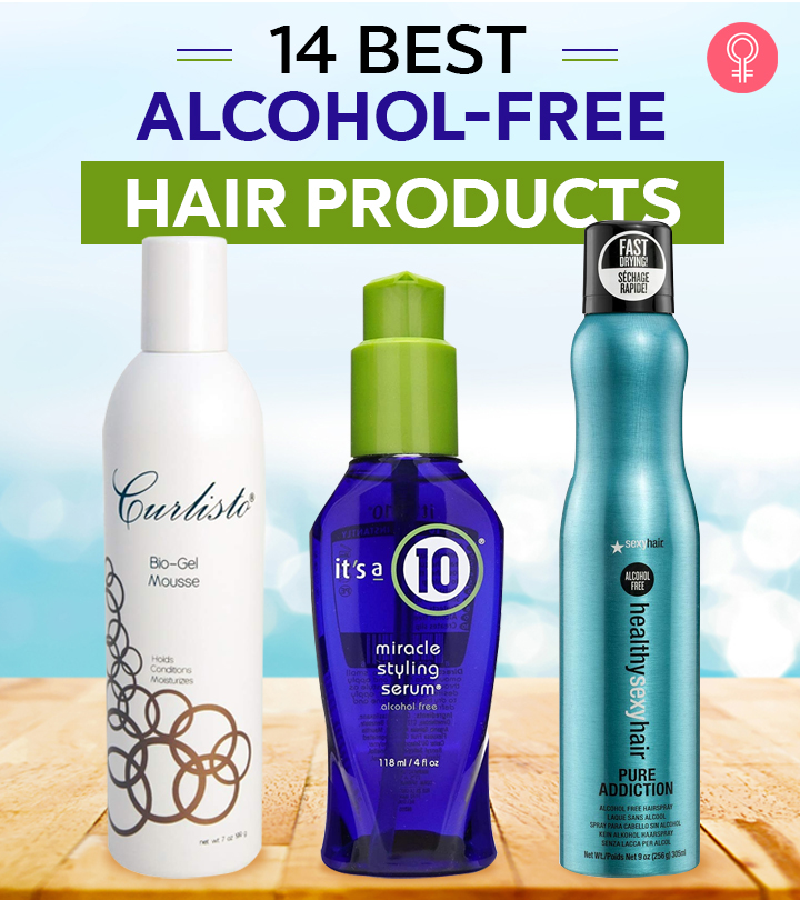 14 Best Alcohol-Free Hair Products