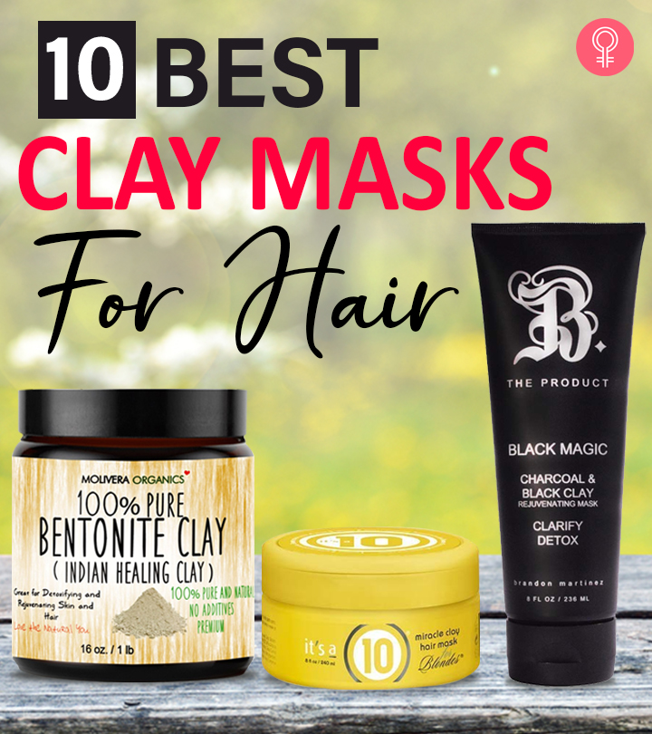 10 Best Clay Masks For Hair