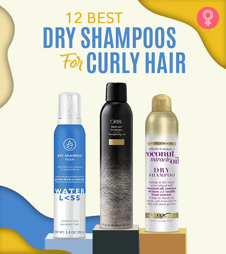12 Best Dry Shampoos For Curly Hair