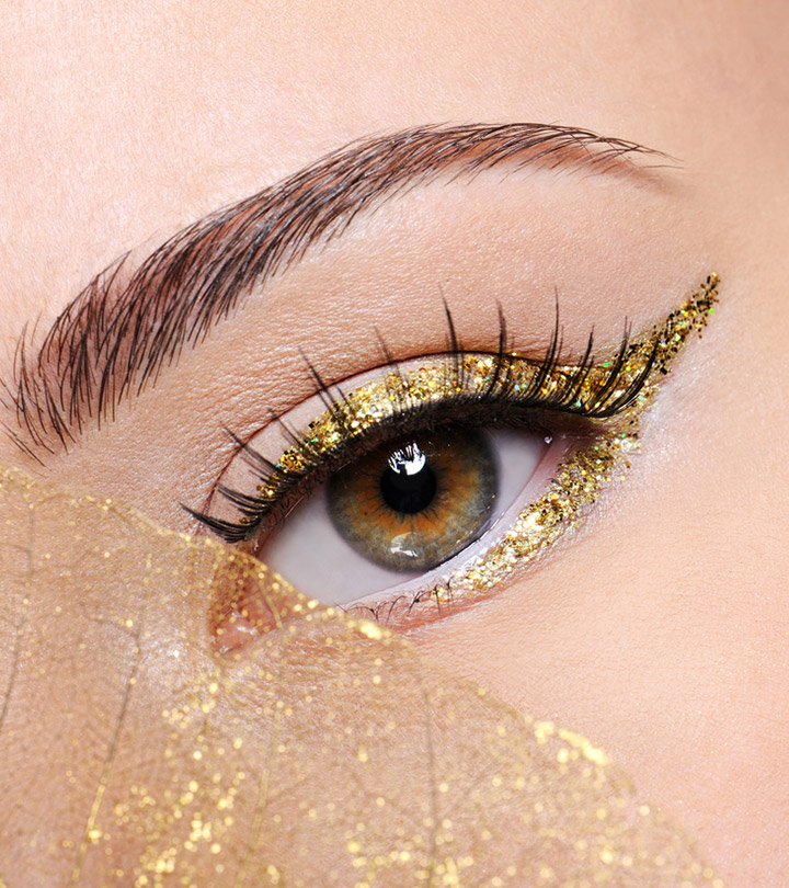 14 Best Gold Eyeliners Of 2020 For Sparkly, Gilded Eyes