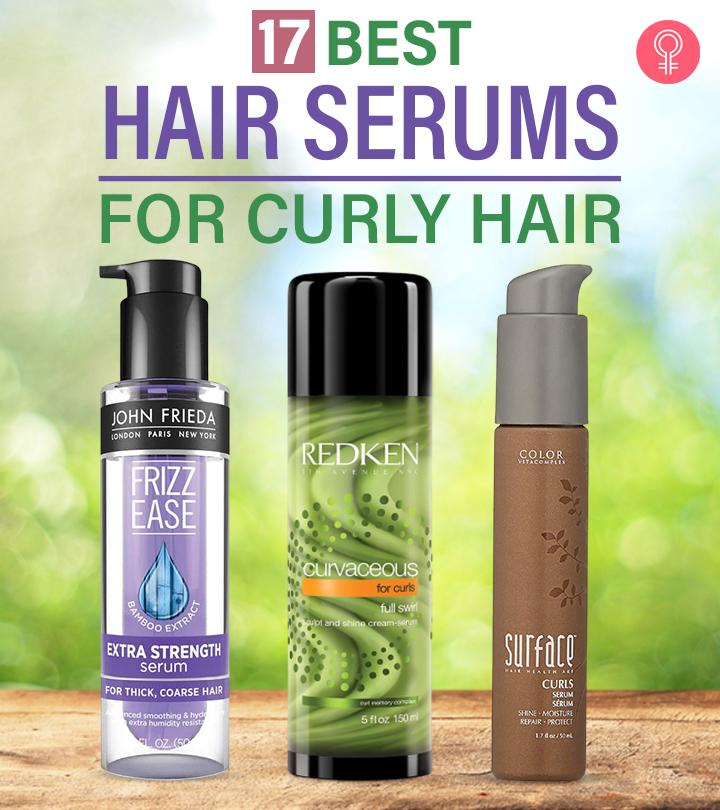 17 Best Hair Serums For Curly Hair
