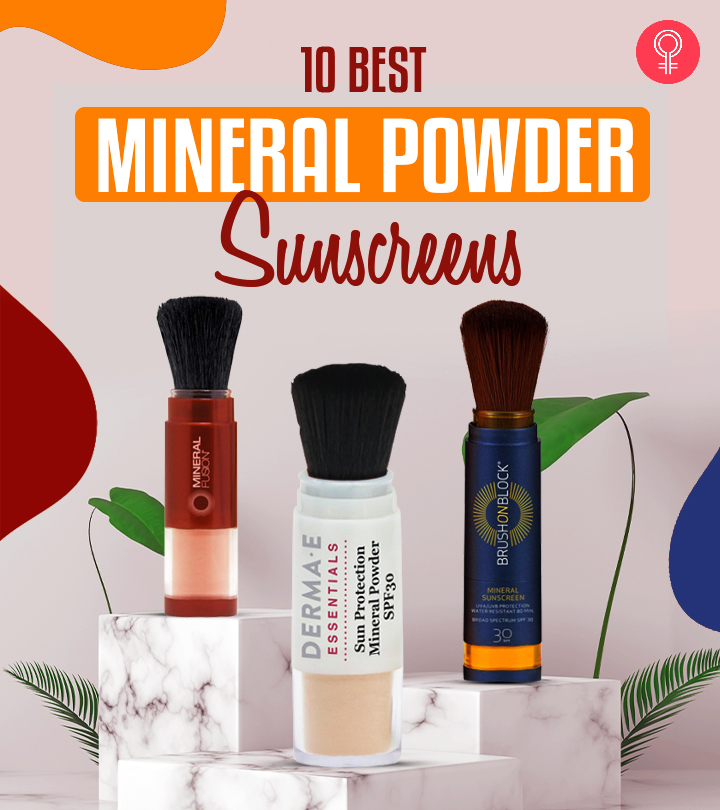10 Best Mineral Powder Sunscreens To Protect The Skin From UV Damage