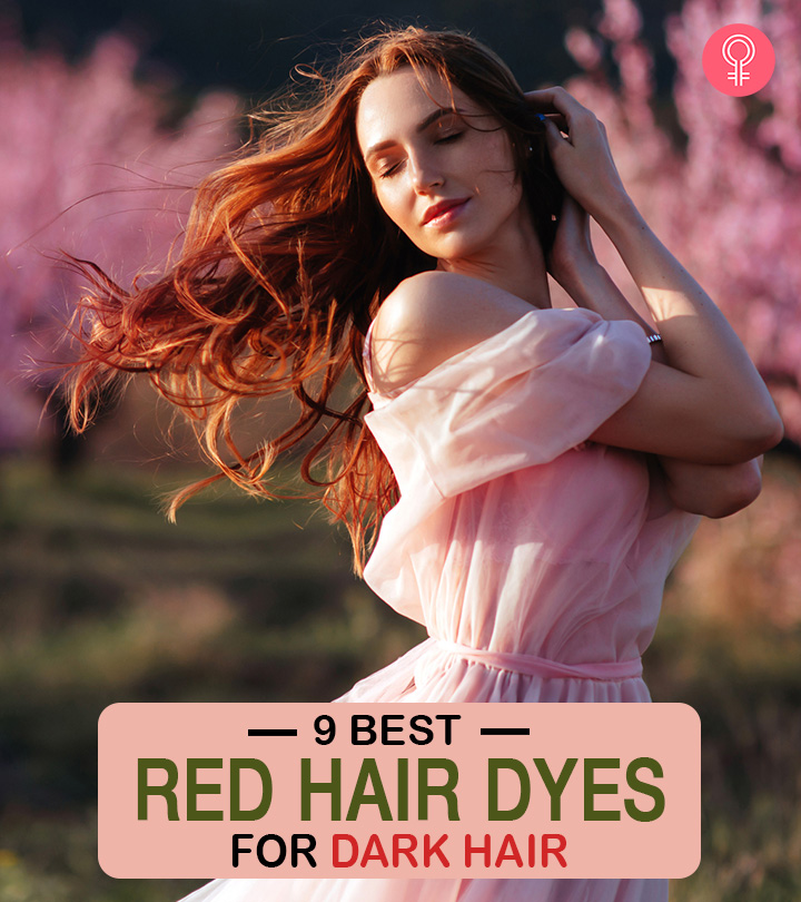 9 Best Red Hair Dyes For Dark Hair