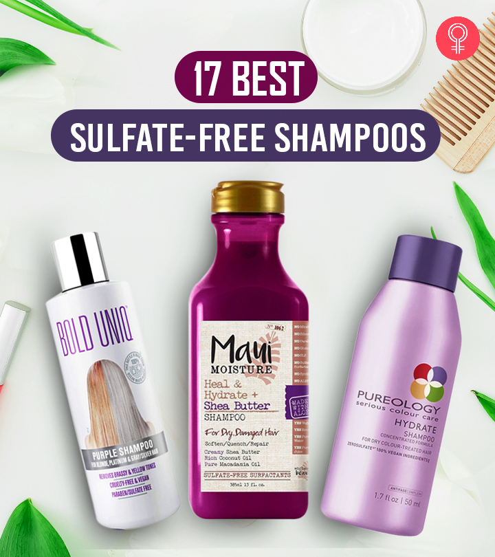 17 Best Sulfate-Free Shampoos For Every Hair Type
