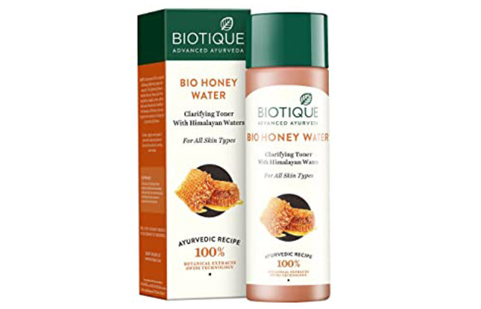 Biotique Bio-Honey Water Clarifying Toner