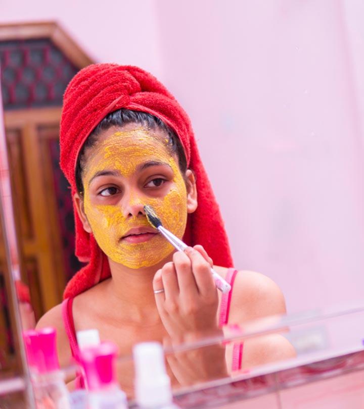 हल्दी फेस पैक के फायदे और बनाने की विधि – 11 Haldi Face Packs for Skin in Hindi