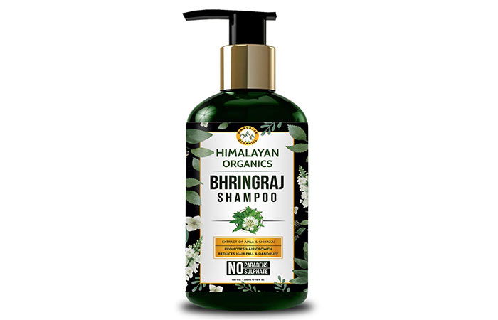 Himalayan Organics Bhringraj Shampoo for Hair Growth