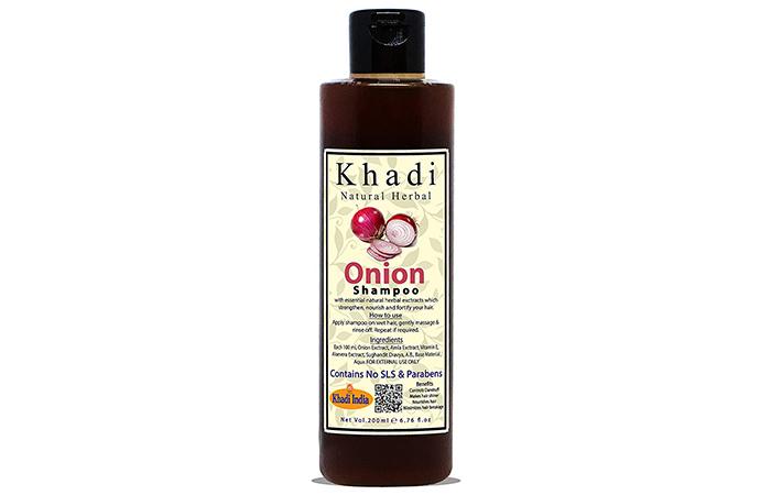 Khadi Natural Herbal Onion Shampoo