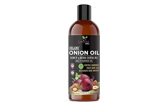 Luxura Sciences Organic Onion Hair Oil