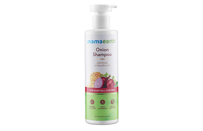 Mamaearth Onion Hair Fall Shampoo