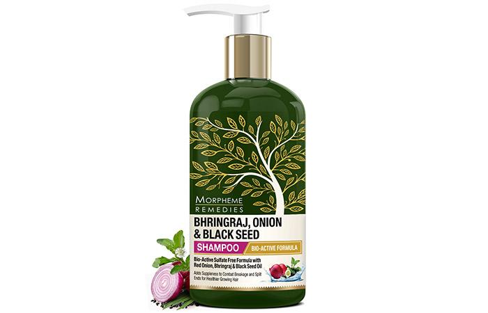 Morpheme Remedies Bhringraj, Onion, And Black Seed Shampoo