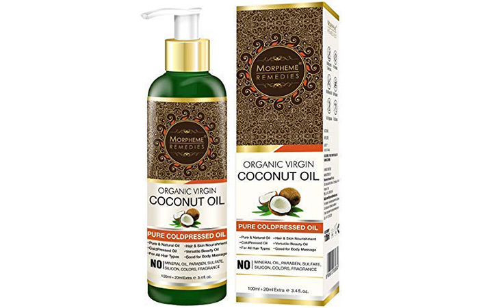 Morpheme Remedies Organic Virgin Coconut Oil