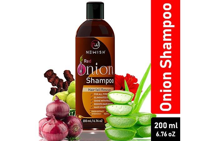 Newish Red Onion Shampoo